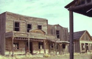 Ghost Town (movie set)